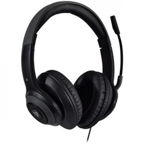 V7 Premium Over Ear Stereo Headset With Boom Mic Right/500