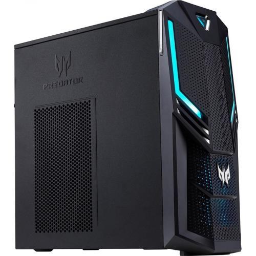 Acer Predator PO3 600 Gaming Desktop Computer   Intel Core I5 9th Gen I5 9400 Hexa Core (6 Core) 2.90 GHz   8 GB RAM DDR4 SDRAM   1 TB HDD   256 GB SSD Right/500