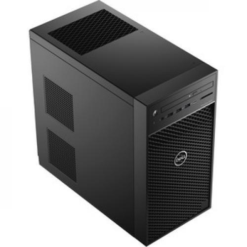 Dell Precision 3000 3630 Workstation   Core I7 I7 9700K   16 GB RAM   256 GB SSD   Mini Tower Right/500