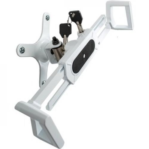 CTA Digital Wall Mount For Tablet, IPad   White Right/500