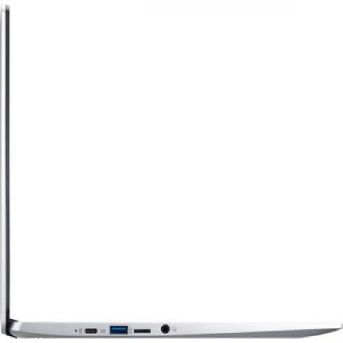 "Acer 315 15.6"" Chromebook Intel Celeron N4020 4GB RAM 32GB EMMC Pure Silver   Intel Celeron N4020 Dual Core   Intel UHD Graphics 600   Built In Webcam & Microphone   Chrome OS   12.5 Hr Battery Life Right/500"