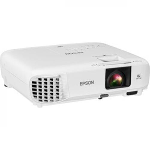 Epson PowerLite E20 LCD Projector   4:3   White Right/500
