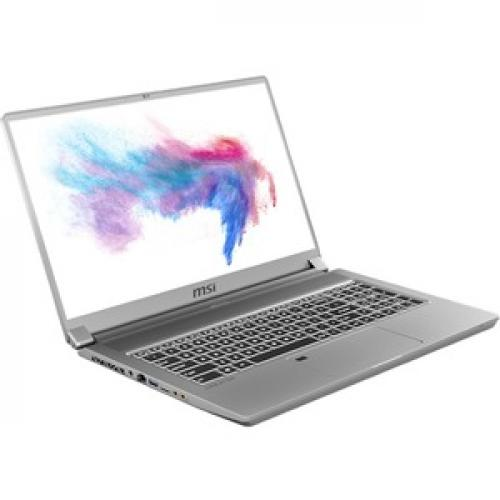 "MSI Creator 17 17.3"" Laptop Core I7 10875H 16GB RAM 512GB SSD 144Hz RTX 2060 6GB   10th Gen I7 10875H Octa Core   NVIDIA GeForce RTX 2060 6GB   144Hz Refresh Rate   Windows 10 Pro   7 Hr Battery Life Right/500"