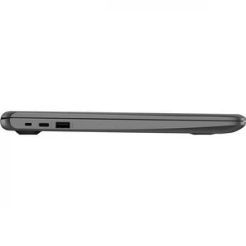 "HP Chromebook 14"" Intel Celeron N3350 4GB RAM 32GB EMMC Chalkboard Gray   Intel Celeron N3350 Dual Core   Intel HD Graphics 500   USB 3.1 Connector   Audio By B&O   11 Hr 30 Min Battery Life Right/500"