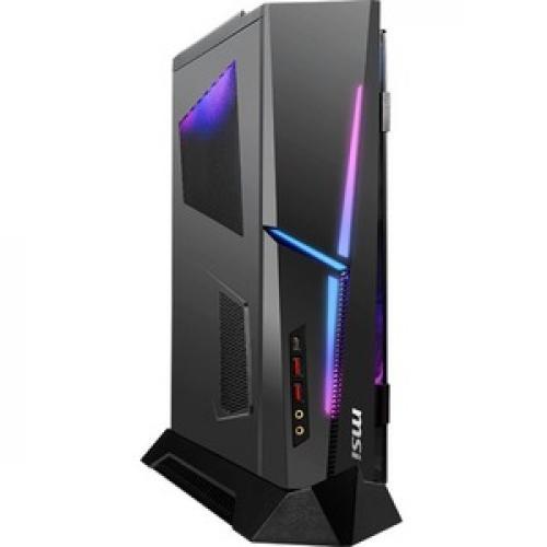 MSI MEG Trident X 10th 10SD 864US Gaming Desktop Computer   Intel Core I7 10th Gen I7 10700K(F)   32 GB RAM DDR4 SDRAM   1 TB SSD Right/500