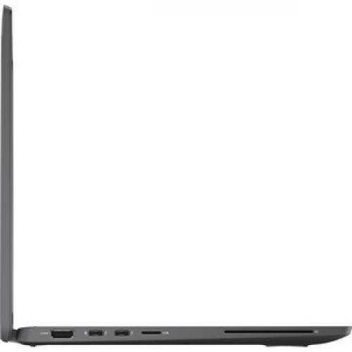 """Dell Latitude 7000 7410 14"""" Touchscreen 2 In 1 Notebook   Full HD   1920 X 1080   Intel Core I7 (10th Gen) I7 10610U Quad Core (4 Core) 1.80 GHz   16 GB RAM   256 GB SSD   Aluminum Titan Gray Right/500"""