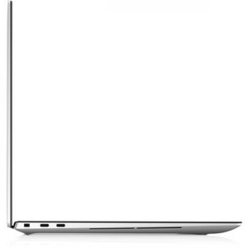 "Dell XPS 15 9500 15.6"" Touchscreen Notebook   3840 X 2400   Intel Core I7 (10th Gen) I7 10750H Hexa Core (6 Core)   32 GB RAM   1 TB SSD   Platinum Silver, Carbon Fiber Black Right/500"