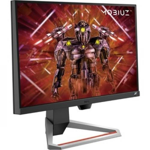 "BenQ MOBIUZ EX2510 24.5"" Full HD LED Gaming LCD Monitor   16:9   Dark Gray, Black Right/500"