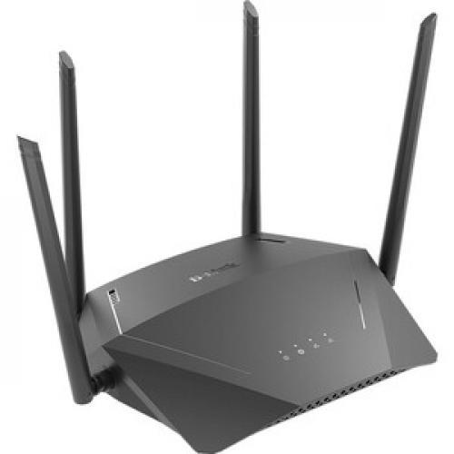 D Link DIR 1750 IEEE 802.11ac Ethernet Wireless Router Right/500