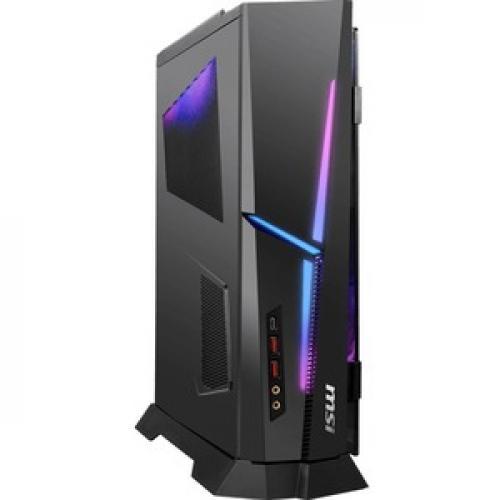MSI MPG Trident AS 10th 10SC 1208US Gaming Desktop Computer   Intel Core I7 10th Gen I7 10700F Octa Core (8 Core) 2.90 GHz   16 GB RAM DDR4 SDRAM   1 TB SSD   Desktop Slimline Right/500