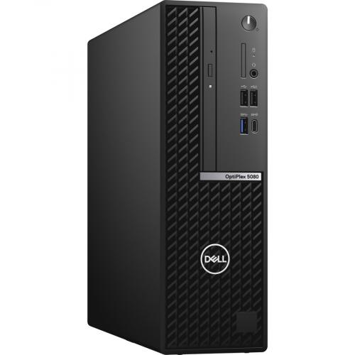 Dell OptiPlex 5000 5080 Desktop Computer   Intel Core I5 10th Gen I5 10500 Hexa Core (6 Core) 3.10 GHz   8 GB RAM DDR4 SDRAM   256 GB SSD   Small Form Factor   Black Right/500