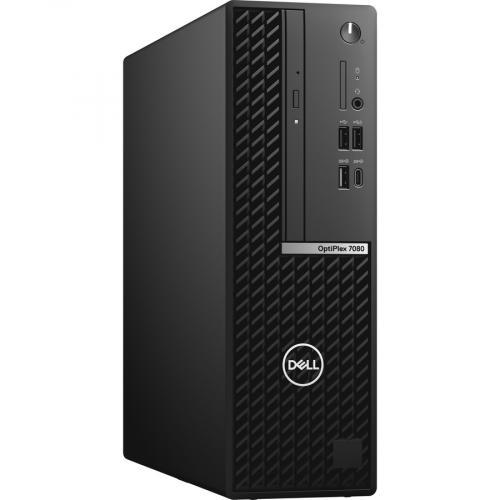 Dell OptiPlex 7000 7080 Desktop Computer   Intel Core I5 10th Gen I5 10500 Hexa Core (6 Core) 3.10 GHz   16 GB RAM DDR4 SDRAM   256 GB SSD   Small Form Factor   Black Right/500