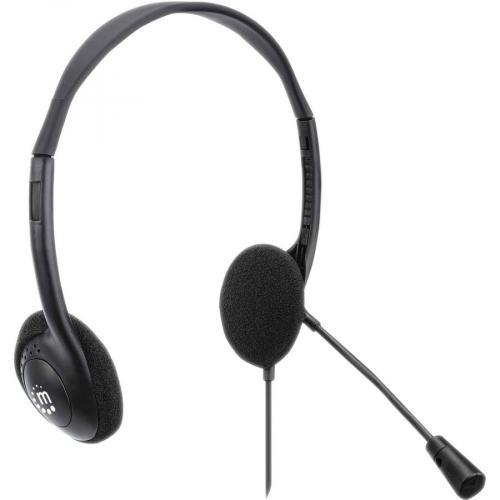 Manhattan Stereo USB Headset Right/500