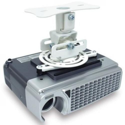 Atdec Ceiling Projector Mount, Fixed Drop   Loads Up To 33lb   VESA Up To 65x200 Right/500