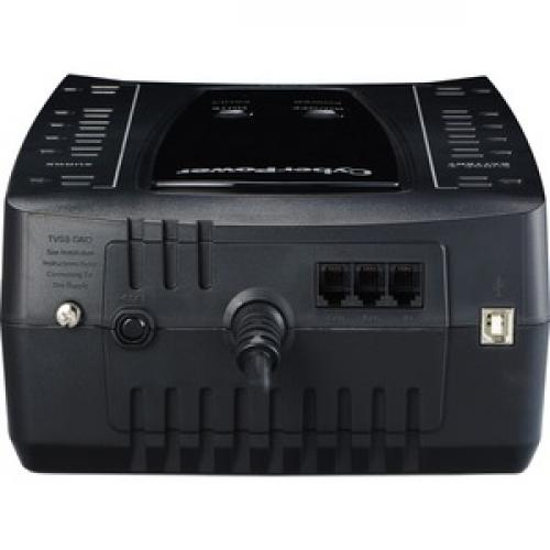 CyberPower AVR Series AVRG750U 750VA 450W Desktop UPS With AVR And USB Top/500