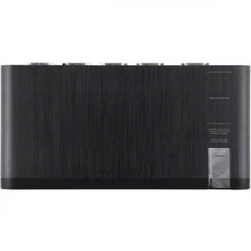 Linksys F1DN104F 3   Advanced Secure Dual Head DVI I KVM Switch; 4 Port Plus, PP3.0 Top/500