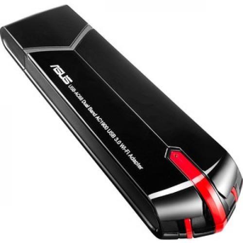 Asus USB AC68 IEEE 802.11ac   Wi Fi Adapter For Desktop Computer/Notebook Top/500