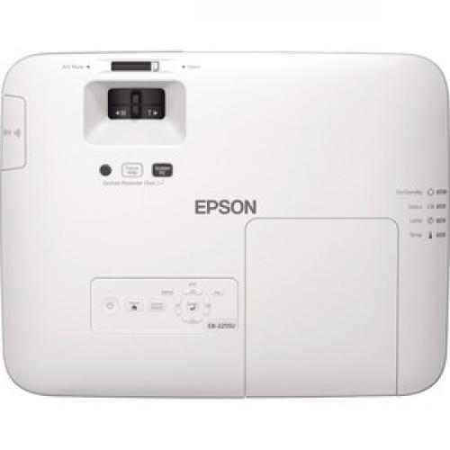 Epson PowerLite 2255U LCD Projector   16:10 Top/500