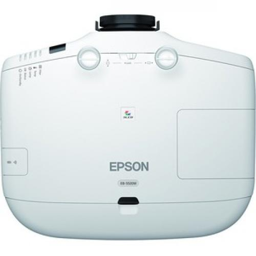 Epson PowerLite 5520W LCD Projector   16:10 Top/500