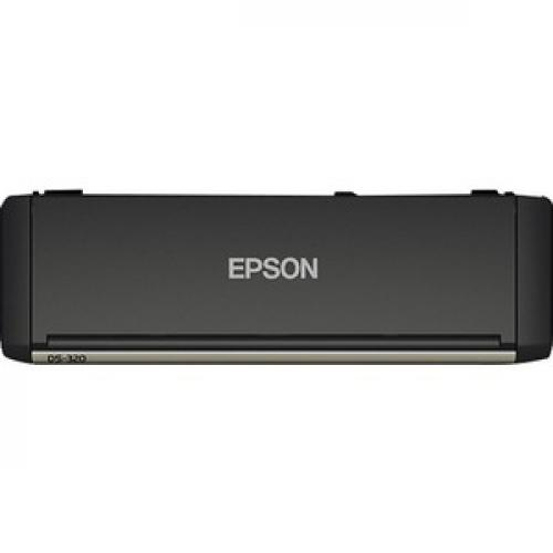 Epson DS 320 Sheetfed Scanner   600 Dpi Optical Top/500