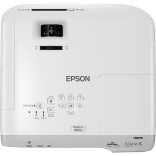 Epson PowerLite 990U LCD Projector   16:10 Top/500
