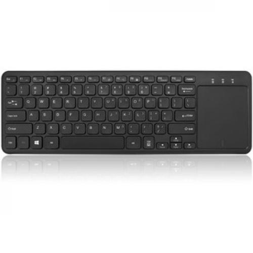 Adesso SlimTouch 4050   Wireless Keyboard With Built In Touchpad Top/500