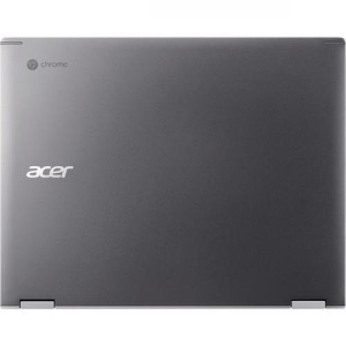 "Acer Chromebook Spin 13 CP713 1WN CP713 1WN 37V8 13.5"" Touchscreen 2 In 1 Chromebook   QHD   2256 X 1504   Intel Core I3 (8th Gen) I3 8130U Dual Core (2 Core) 2.20 GHz   4 GB RAM   128 GB Flash Memory   Gray Top/500"