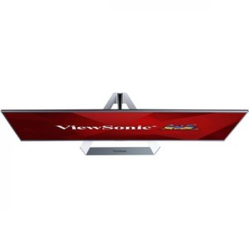 "Viewsonic Ultra Slim VX3276 2K MHD 32"" WQHD LED LCD Monitor   16:9   Silver Top/500"