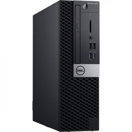 Dell OptiPlex 5000 5070 Desktop Computer   Core I7 I7 9700   8 GB RAM   256 GB SSD   Small Form Factor Top/500