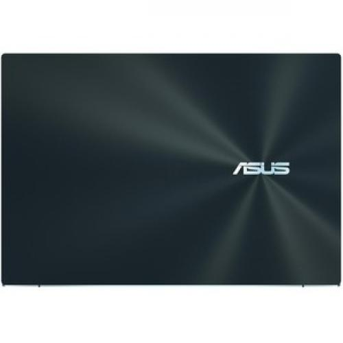"Asus ZenBook Pro Duo UX581 UX581GV XB94T 15.6"" Touchscreen Notebook   3840 X 2160   Intel Core I9 (9th Gen) I9 9980HK Octa Core (8 Core) 2.40 GHz   32 GB RAM   1 TB SSD   Celestial Blue Top/500"