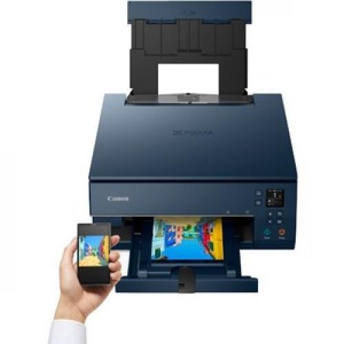 Canon PIXMA TS TS6320 Navy Inkjet Multifunction Printer   Color Top/500
