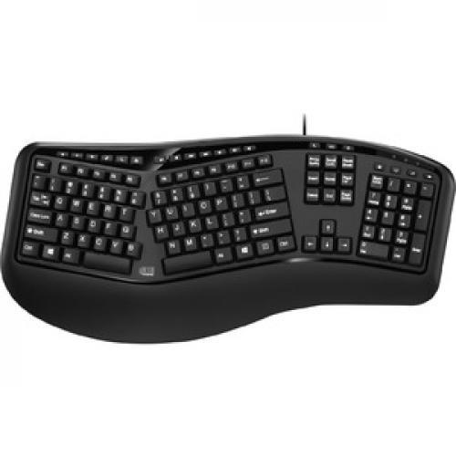 Adesso Desktop Ergonomic Keyboard (TAA Compliant) Top/500