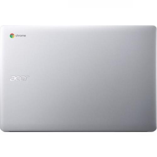 "Acer 315 15.6"" Chromebook Intel Celeron N4020 4GB RAM 32GB EMMC Pure Silver   Intel Celeron N4020 Dual Core   Intel UHD Graphics 600   Built In Webcam & Microphone   Chrome OS   12.5 Hr Battery Life Top/500"