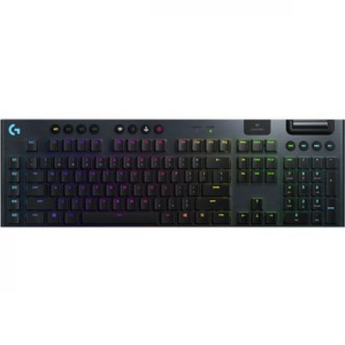 Logitech G915 TKL Tenkeyless Lightspeed Wireless RGB Mechanical Gaming Keyboard Top/500