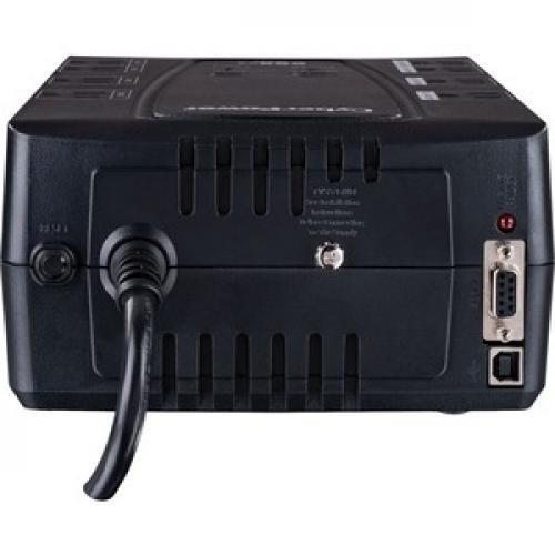 CyberPower Intelligent LCD CP600LCD 600 VA Desktop UPS Top/500