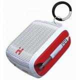 iHome Speaker System - Portable - Battery Rechargeable - White, Red