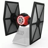 KIDdesigns Villain Starfighter Speaker System - Portable - Battery Rechargeable - Wireless Speaker(s) - Black, Red, Silver