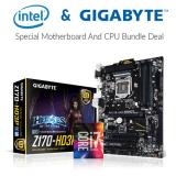 Intel i7-6700K CPU+ Gigabyte GA-Z170-HD3P Motherboard bundle