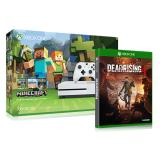 Xbox One S 500GB Console - Minecraft Bundle + Dead Rising 4