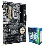 Asus Z170-K Desktop Motherboard + Intel Core i5-6600K 6M Skylake Quad-Core 3.5 GHz LGA 1151 91W
