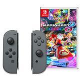 Nintendo Joy-Con (L/R)-Gray & Mario Kart 8 Deluxe