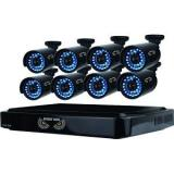 Night Owl 16 Channel Video Security System with 8 hi-resolution 900 TVL Bullet Cameras