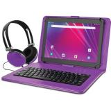 "Ematic 10.1"" EGQ239BD 16GB Tablet Bundle (Wi-Fi, Purple)"