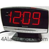 Tech Large Display Clock Radio