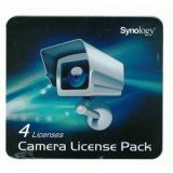 SYNOLOGY ACCESSORIES CLP4 CAMERA LICENSE PACK (X4) RETAIL