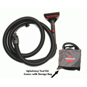 Bissell Deep Cleaning Upholstery Tool and Hose Accessory Kit for the Bissell 10N2 Extractor - 9 Foot hose and 6 inch spot.-Stain tool help clean tough spots and stains