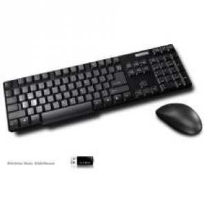 Inland Pro 2.4Ghz Wireless Optical Mouse/Keyboard Combo