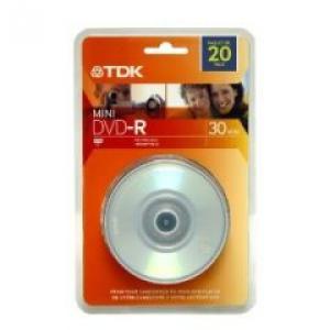 1.4GB MINI DVD-R 4X 20PK SPN