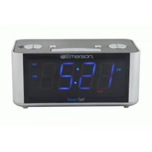 Emerson SmartSet Desktop Clock Radio - Mono