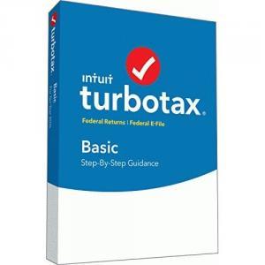 TurboTax Basic 2016 Tax Software Federal + Fed Efile PC/MAC Disc